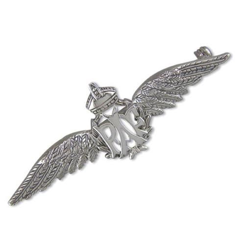 Sterling Silver RAF wings Brooch
