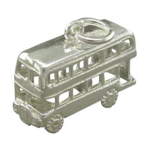 Sterling Silver London Bus Charm
