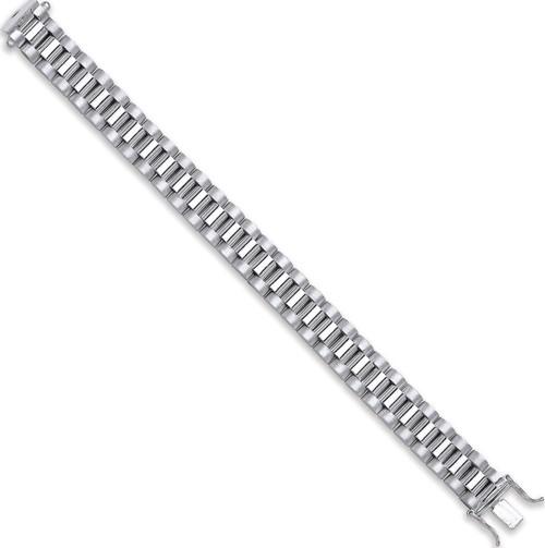 6 inch Sterling silver baby kids watch strap style bracelet  24.5g