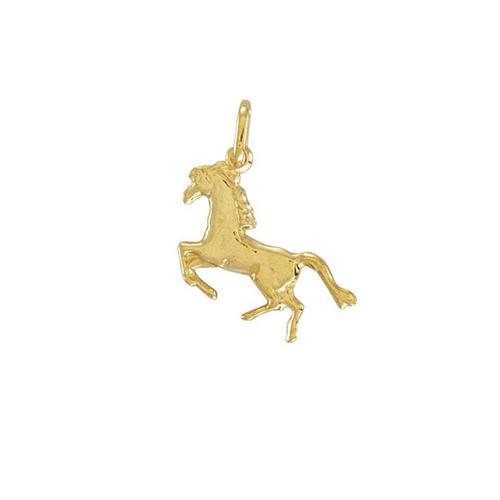 9ct Gold Lightweight Horse Charm pendant 0.5g