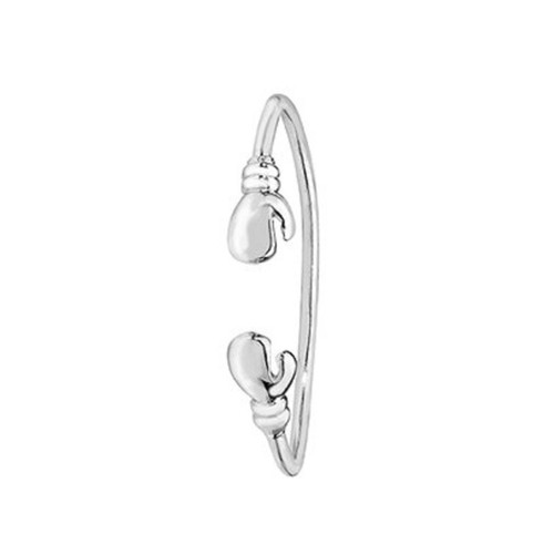 Sterling Silver Childrens Boxing Glove Torque bangle 5.8g