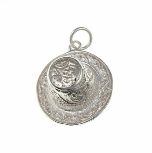 Sterling silver Welsh Hat charm
