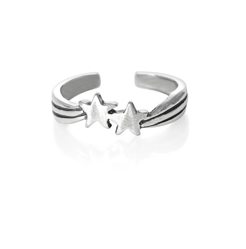 Sterling Silver Shooting Star toe ring