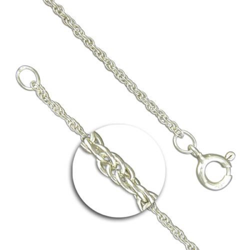 """20""""/51cm 1.65mm Sterling Silver Prince of Wales Chain"""