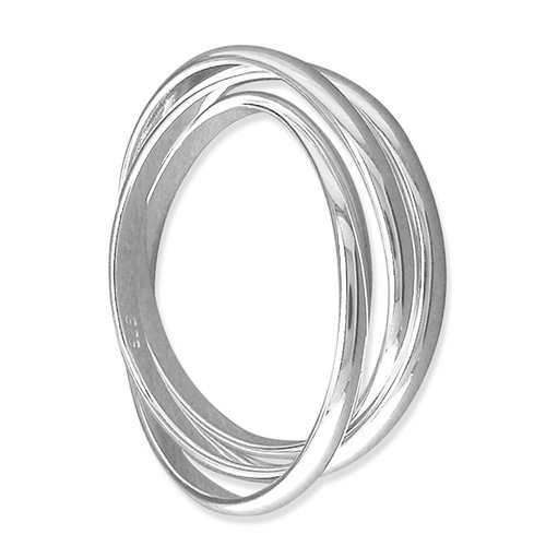 1.8mm Sterling silver Russian Wedding ring