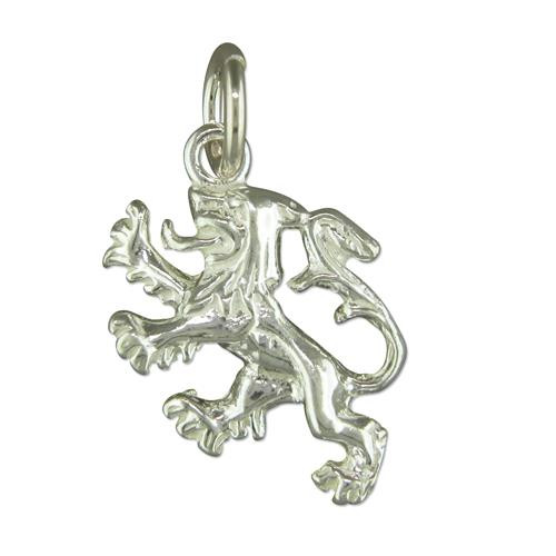 Sterling Silver Scottish Lion Charm