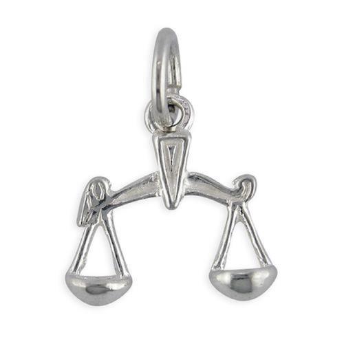Sterling Silver Libra Zodiac starsign charm