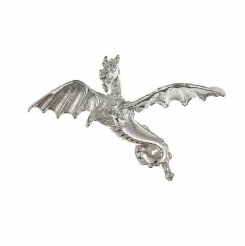Sterling Silver Mythical Flying Dragon charm