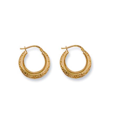 0620689d3fa0e Gold Jewellery - Gold Earrings - Plain Gold Earrings - Page 1 ...