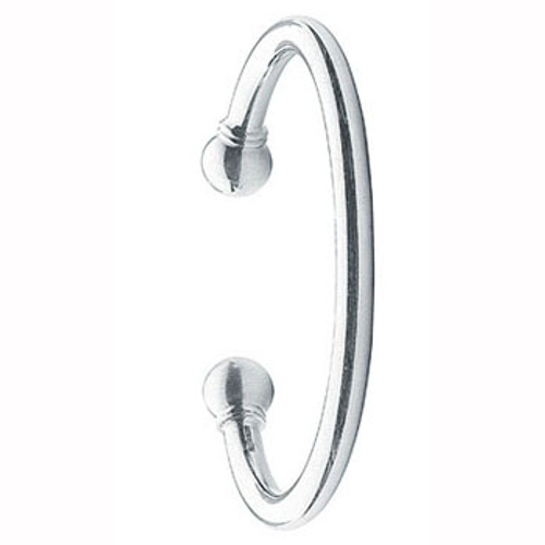 Gents 6mm thick Sterling Silver Torc Torque Bangle 62g