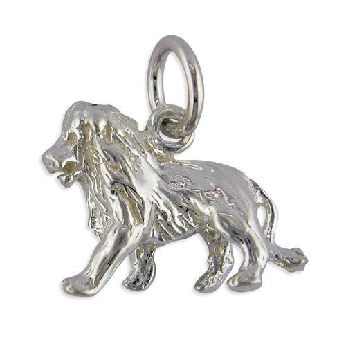 Sterling silver Leo the lion Starsign Zodiac Charm