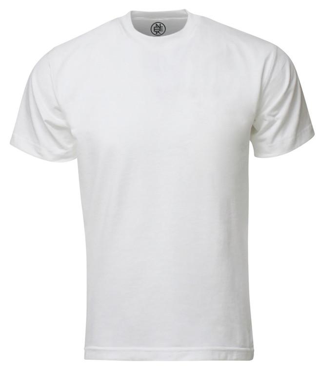 WHITE PREMIUM MAX HEAVYWEIGHT T-SHIRT