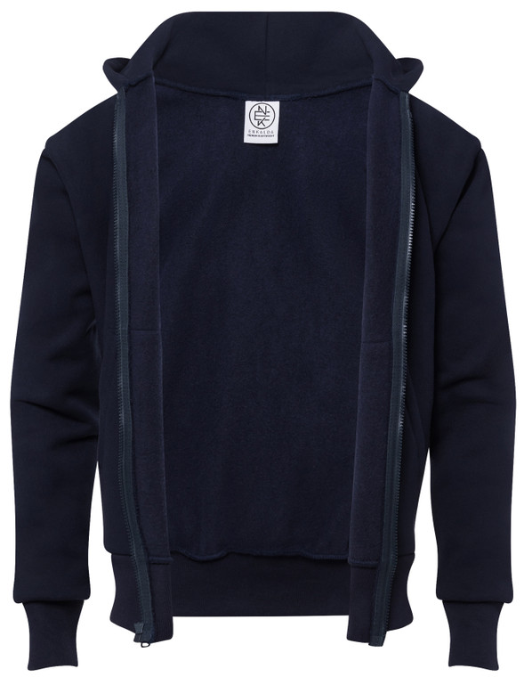 NAVY PREMIUM HEAVYWEIGHT ZIPPER HOODIE