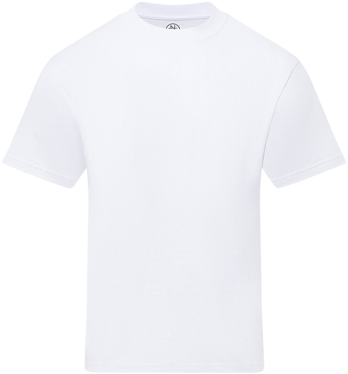 WHITE PREMIUM HEAVYWEIGHT T-SHIRT