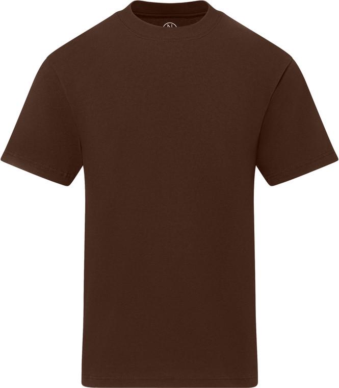 BROWN PREMIUM HEAVYWEIGHT T-SHIRT