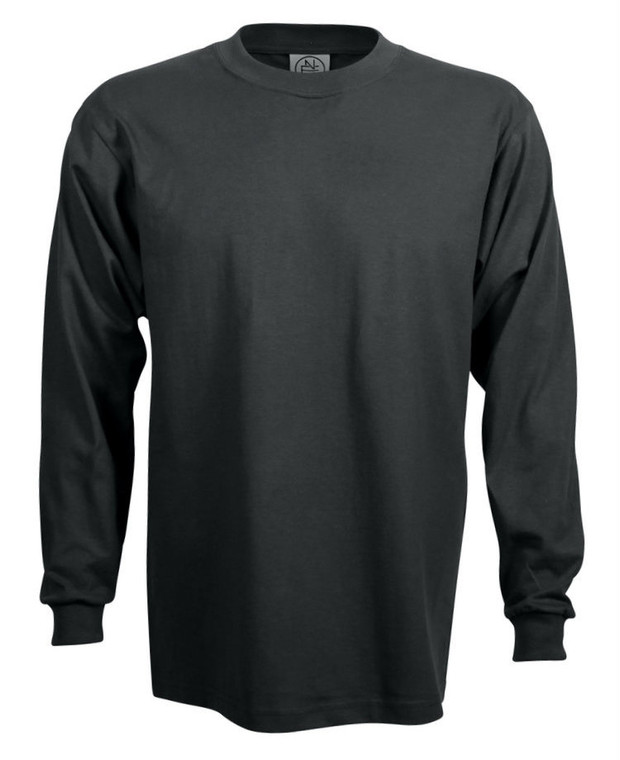 GRAPHITE PREMIUM HEAVYWEIGHT LONG SLEEVE T-SHIRT
