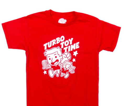 Turbo Toy Time Collab - Tee ( Adult sizes only)