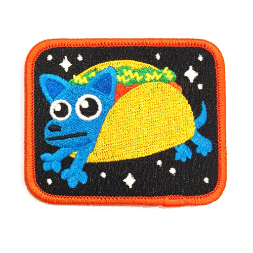 Taco Dog - Iron on Patch