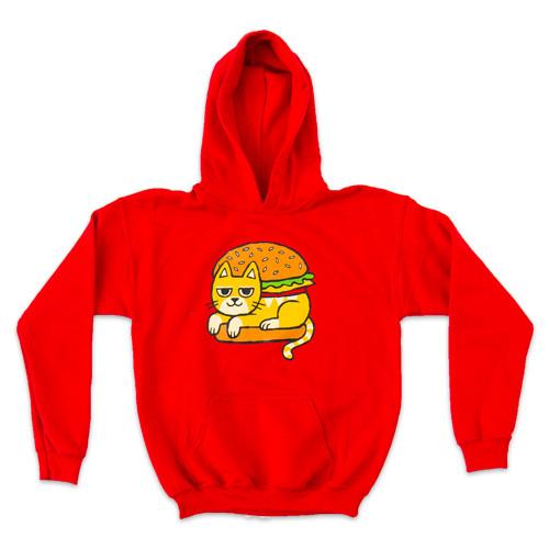 Cat Burger - Hoodie