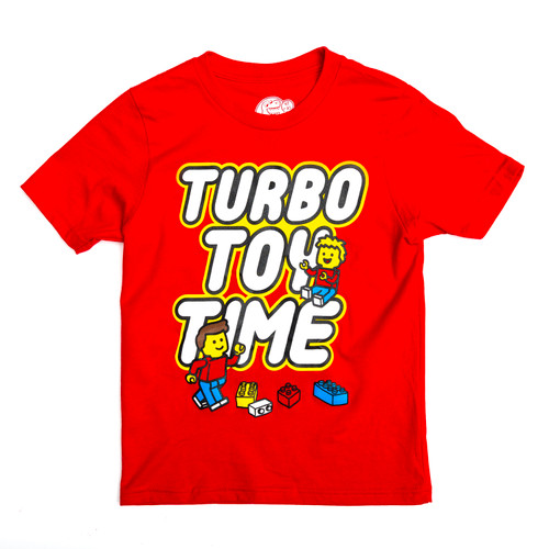 Blocky Turbo Toy Time Collab - Tee (Youth and Adult sizes)