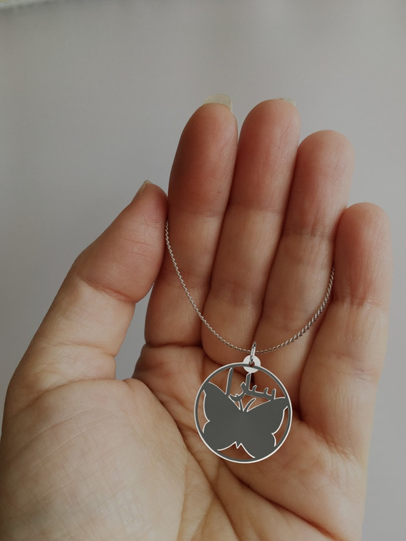 arabic personalised necklace