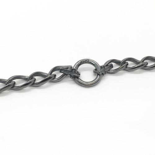 JCVT Saint Maries Silver Bracelet Antiqued