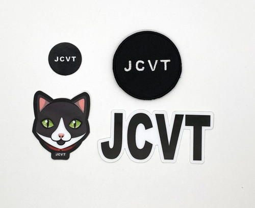 Jack the cat sticker bundle JCVT