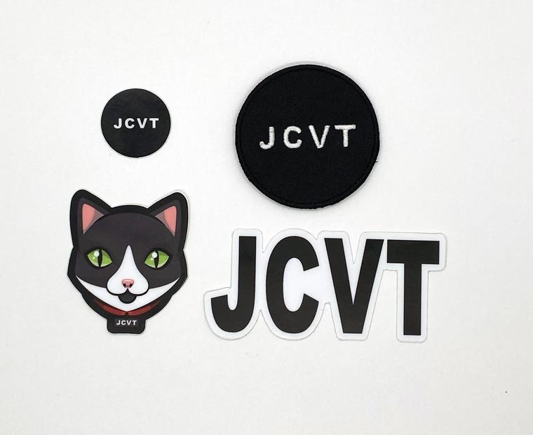 Jack the cat sticker bundle JCVT