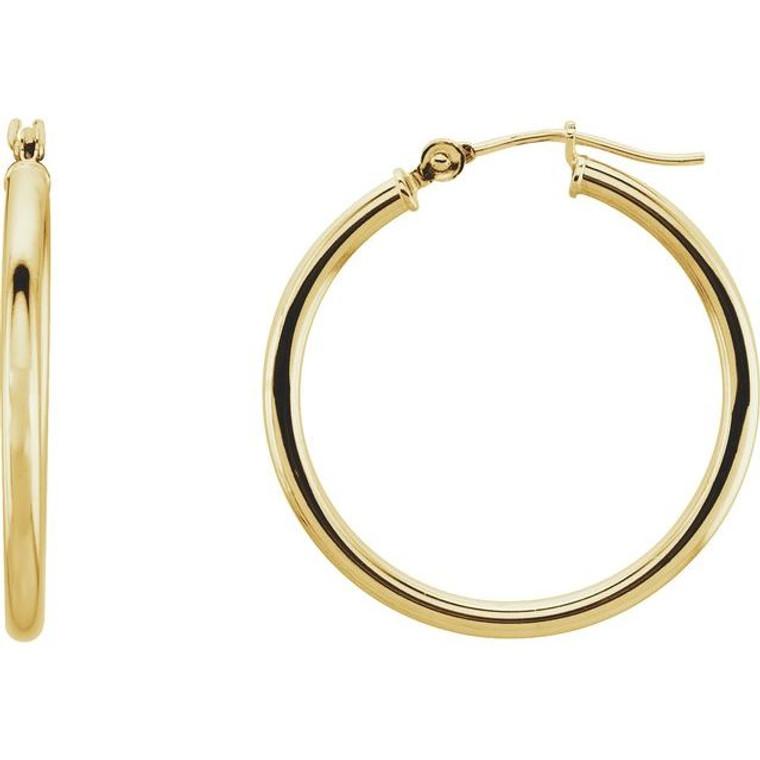 14ky 25mm hoop