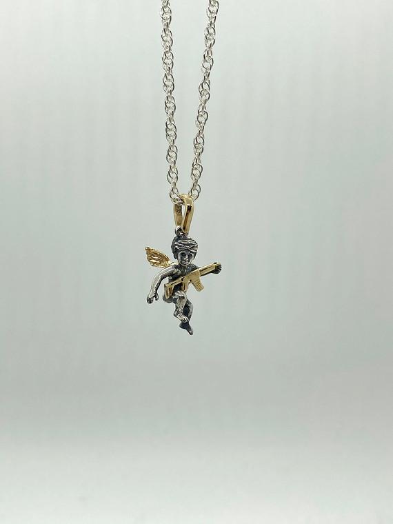 JCVT cherub silver