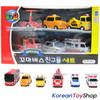 00120 - Little Bus TAYO Friends Special Set 6 pcs Toy Car Toto Cito Nuri Frank Pat Alice