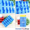 Lego Figure style Food-grade Blue Silicone Ice Chocolate Jello Mold Original