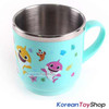 PINKFONG Stainless Steel Bowl 2 pcs, cup 1pcs Handle Non-slip BPA Free Original