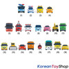 00180 Tayo Little Bus Friends Special 19 pcs Mini Car Set Police Tayo Version Iconix