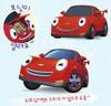 Tayo Little Bus SPEED Main Plastic Diecast Toy Car Original Red Sports Car