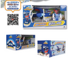 Super Wings Police Set Toy Airplane with Mini Police Hogi (Jett)