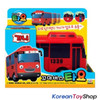 The Little Bus TAYO Diecast Plastic Toy Car - Gani & Rani Buses Set (2 pcs)