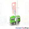Tayo Little Bus ROGI Model Cute Mini Diecast Metal Bus Toy Car Kamicar Green Bus