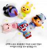 Little Hero SUPER Z Soft Figures 5 pcs Toy Set Water Gun Happy Bath Time