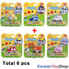 BabyBus Panda Diecast Metal Mini Car 6 pcs Toy Set Free Wheels Academy Authentic 100%
