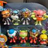 Octonauts Octo-Glow Crew Pack 8 pcs Figure Set Toy Glow in the Dark Fisher-Price