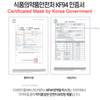The GOOD Premium Dust Protect Mask ADULT 20 pcs KF94 Coronavirus Made in Korea