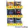 BabyBus Panda Monster Toy Car 6 pcs Set - Bus, Tow Truck, Police Car, Fire Truck, Dump Truck, Ambulance