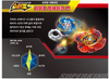 Beyblade Burst Superking B-174 Limit Breakthrough DX Set Stadium Arena Takara Tomy