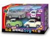 00172 Tayo Little Bus Friends Special V.8 Mini Car 4 pcs Toy Set