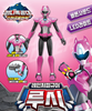 Miniforce LUCY Ranger Figure Toy with Weapon Sound & LED Effect PINK