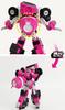 Miniforce LUCY Penta X Bot Transformer Toy Car Robot Pink Toytron