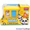 BabyBus Panda Monster Toy Car 8 pcs Set Bus Tow Truck Police Car Fire Dump Ambulance Taxi Wolf Truck