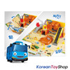 The Little Bus Tayo Heavy Equipment Play Set Toy w/ 10 pcs Tayo Friends Mini Car