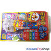 Pororo Mike Shape Toy w/ LED Lighting & Sound Effects Theme Song 4 Buttons Blue